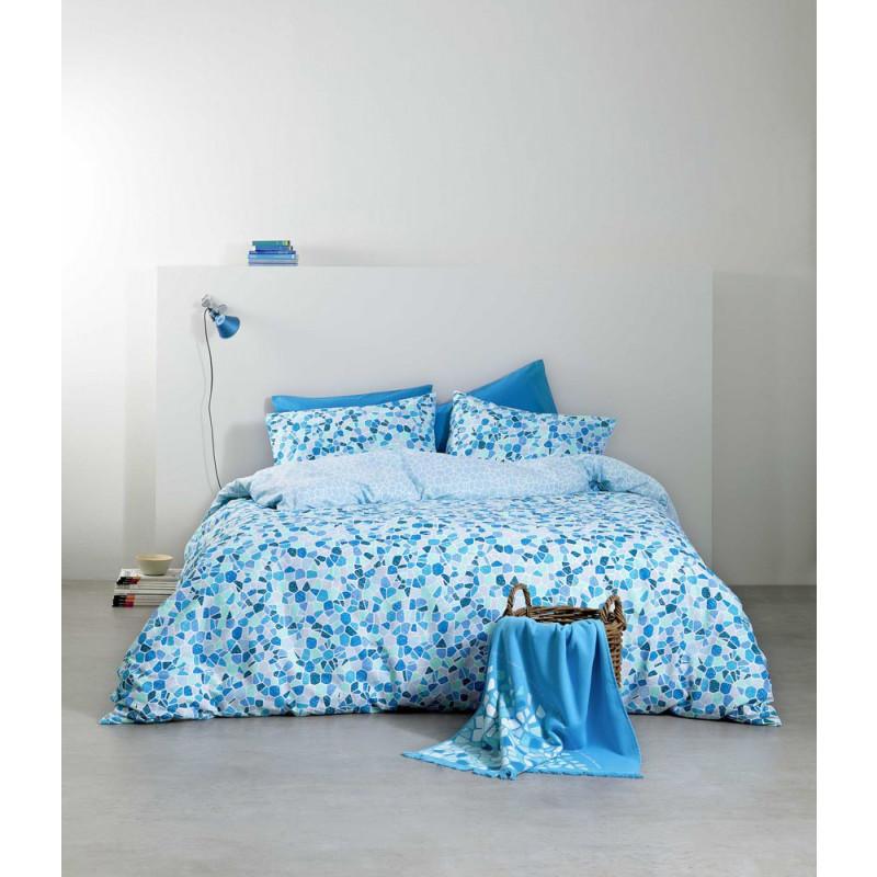 Σεντόνια (Σετ) Υπέρδιπλα - Nima Boracay Blue