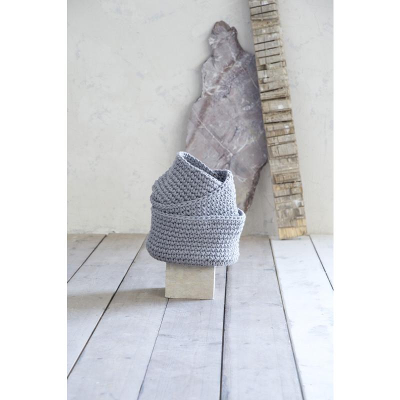 Καλάθι 28x15 - Nima Panier Gray