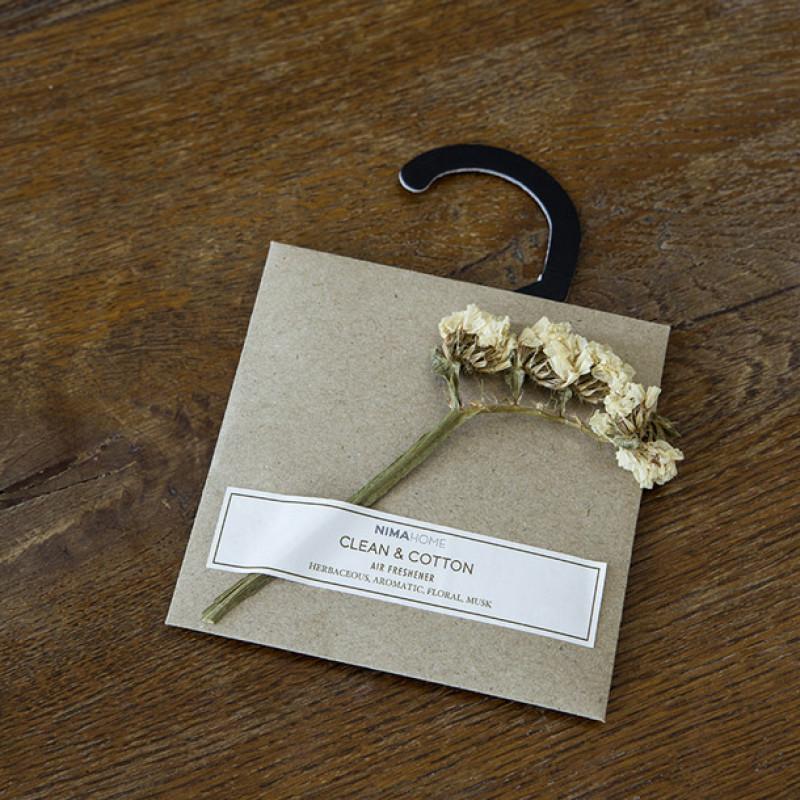 Αρωματικό Ντουλάπας 10gr - Nima Clean & Cotton