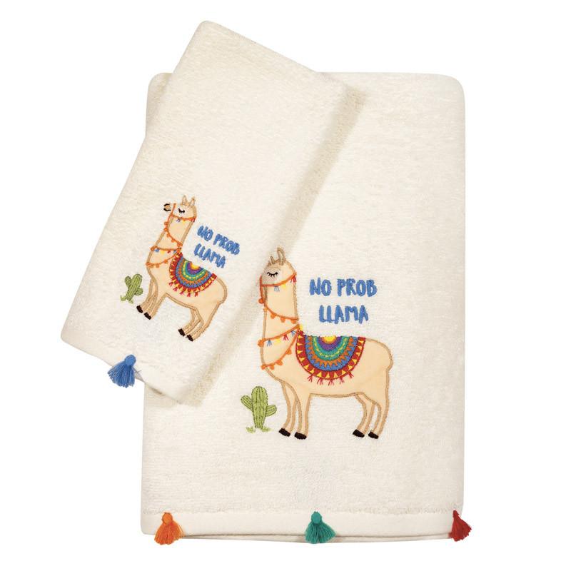 Βρεφικές Πετσέτες (Σετ 2 Τμχ) Das Home Fun Embroidery 6571 Μπεζ
