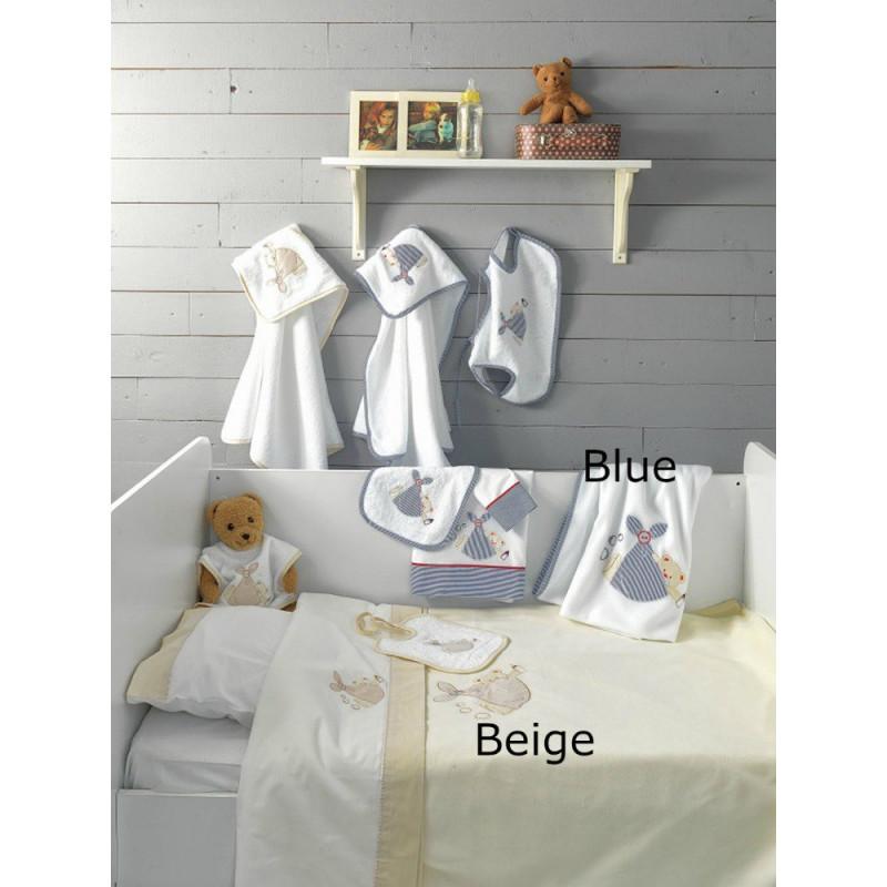 Σεντόνια Βρεφικά ( Σετ) Κούνιας 130x180 BJ453 Palamaiki Baby Joia Με λάστιχο