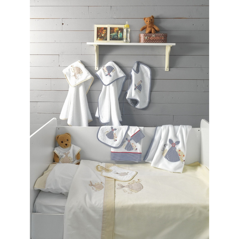Σεντόνια Βρεφικά ( Σετ) 130x180 BJ453 Baby Joia Με λάστιχο