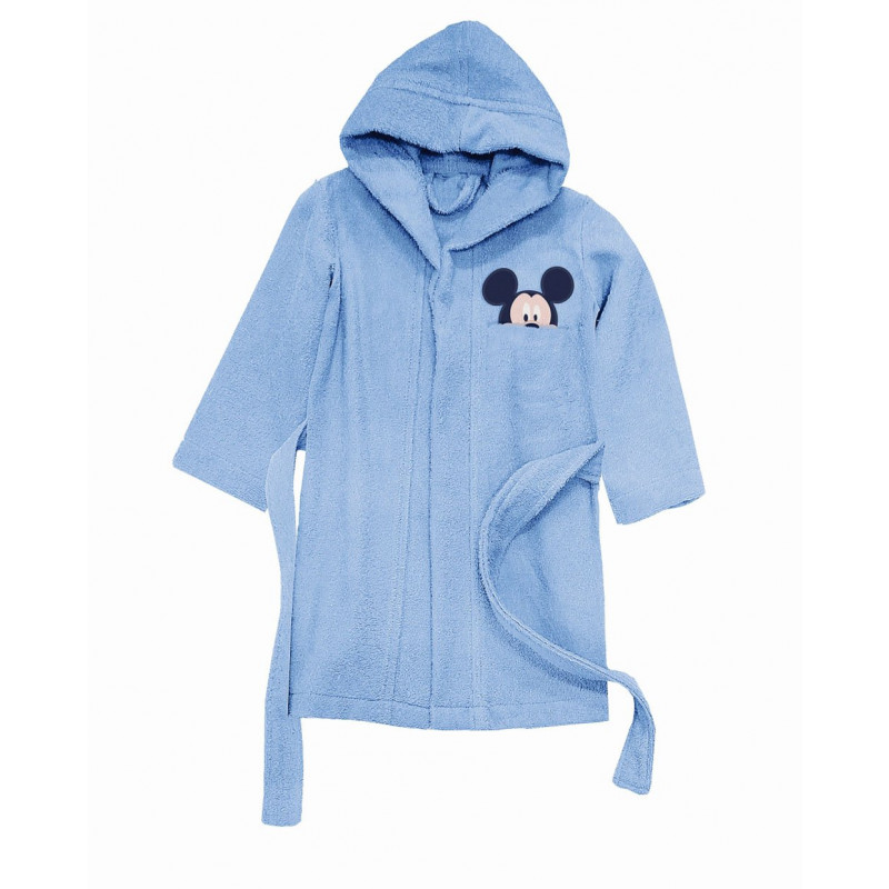 Μπουρνούζι Βρεφικό Mickey Palamaiki Baby Collection