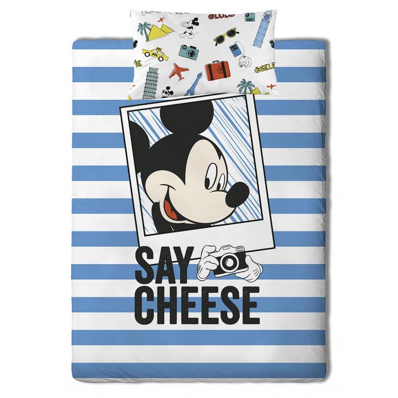 Σεντόνια (Σετ) Μονά Mickey Travel Palamaiki Disney Irene