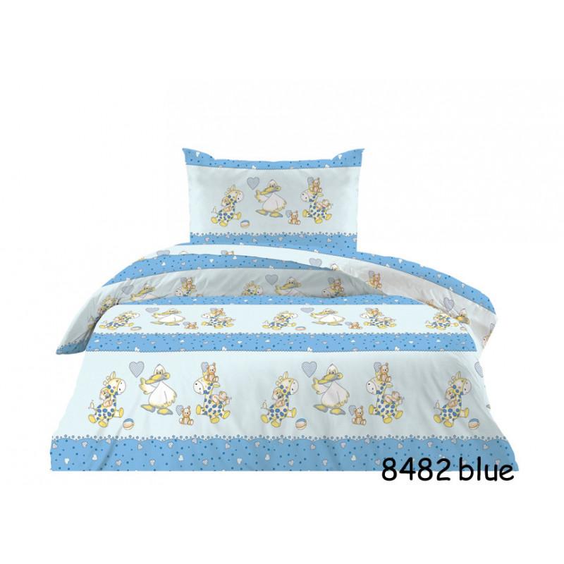 Πάπλωμα 100% βαμβάκι Cotton Feelings 8482 blue