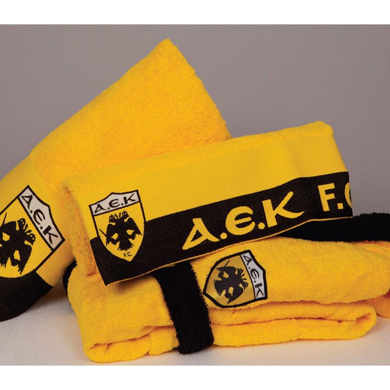 Πετσέτα Προσώπου (50x100) Palamaiki Official Team Licenced Α.Ε.Κ. 1924 TOWEL Yellow