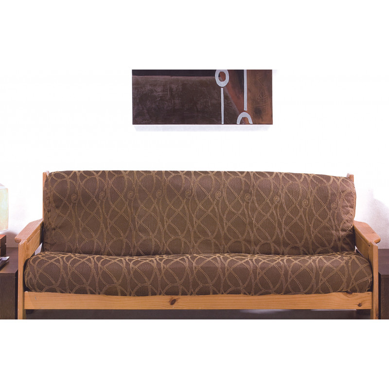 Ελαστικά καλύμματα καναπέ με ξύλινα μπράτσα Picaso