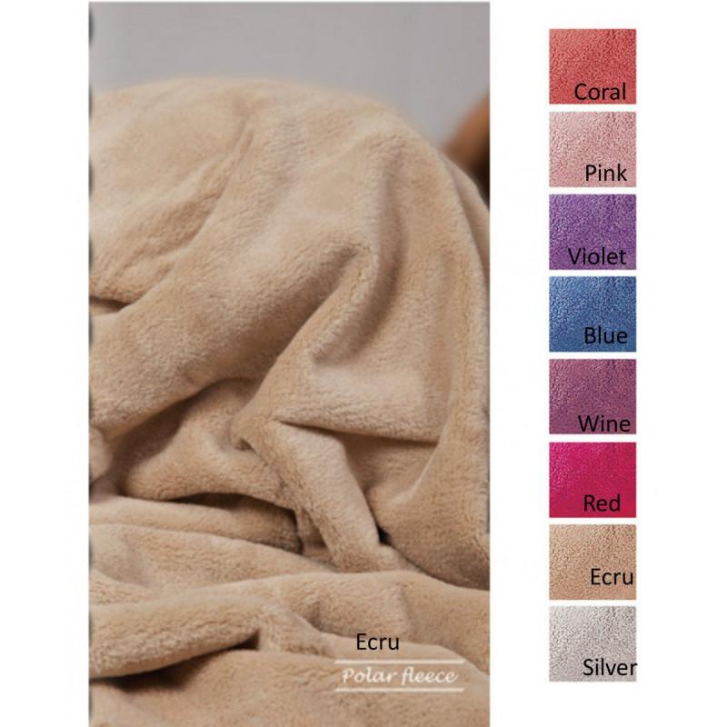 Κουβέρτα Fleece Υπέρδιπλη 220x240 Polar Fleece Solid
