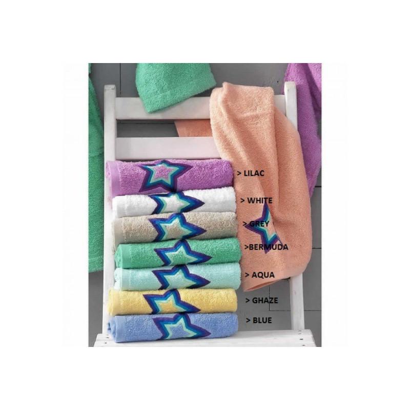 Πετσέτες Παιδικές (Σετ 2 Τμχ) Star Palamaiki Pearl Young