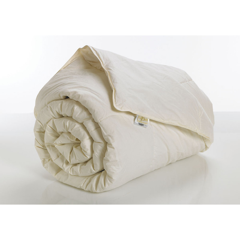 Πάπλωμα Μονό 160x240 Wool Dreams Palamaiki White Comfort Ecru