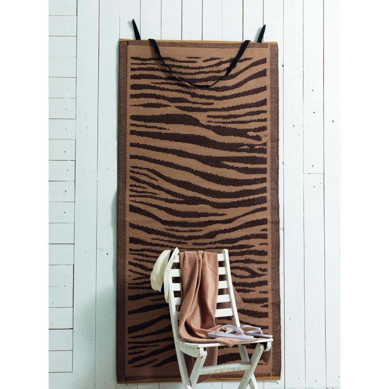 Ψάθα+Πετσέτα Θαλάσσης (Σετ) Zebra Palamaiki Beach Collection