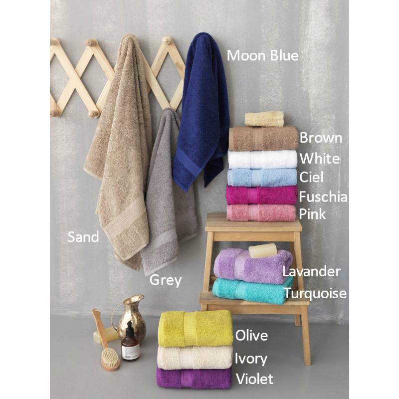 Πετσέτες Μπάνιου (Σετ 3τμχ) Jolie Premium Towels