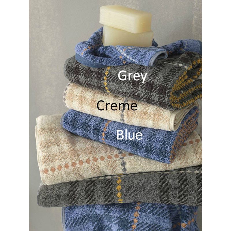 Πετσέτες (Σετ 3 Τμχ) JS-537 Palamaiki Premium Towels