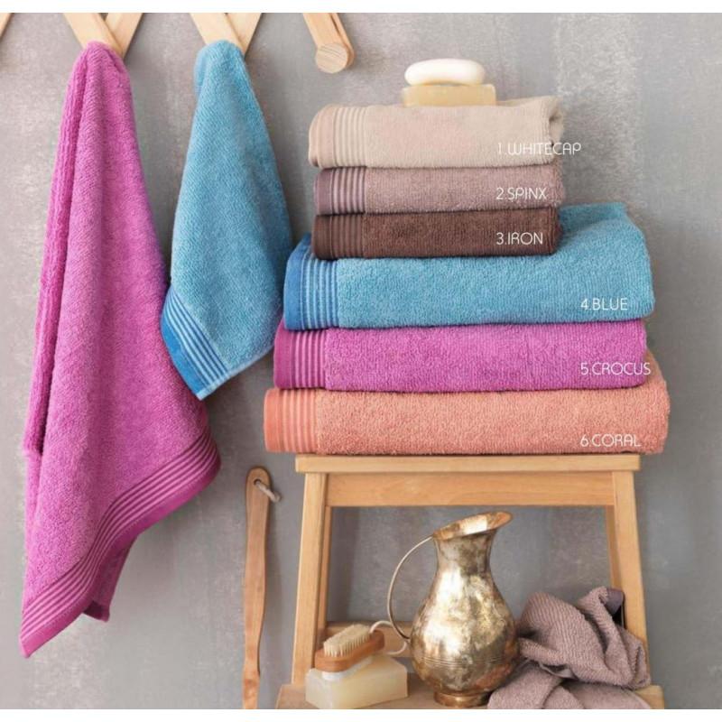 Πετσέτα Προσώπου 50x100 Louna Palamaiki Premium Towels