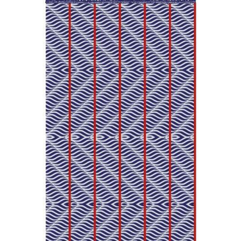 Πετσετα Θαλασσης 95x160 Seas Palamaiki Beach Towel Blue