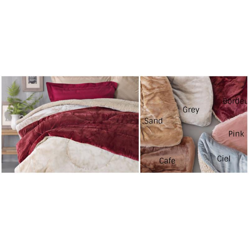 Κουβερτοπάπλωμα Μονό (Τμχ) 160x240 Sloop Flannel Fleece Palamaiki