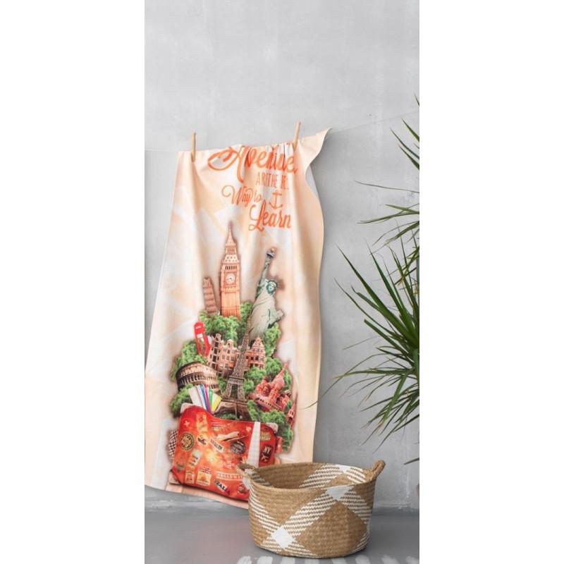 Πετσετα Θαλασσης 75x150 YH-052 Palamaiki Digital Print