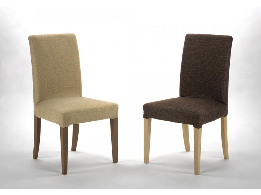 Σετ (2 Τμχ) Ελαστικά Καλύμματα Καρέκλας Με Πλάτη Bielastic Nature