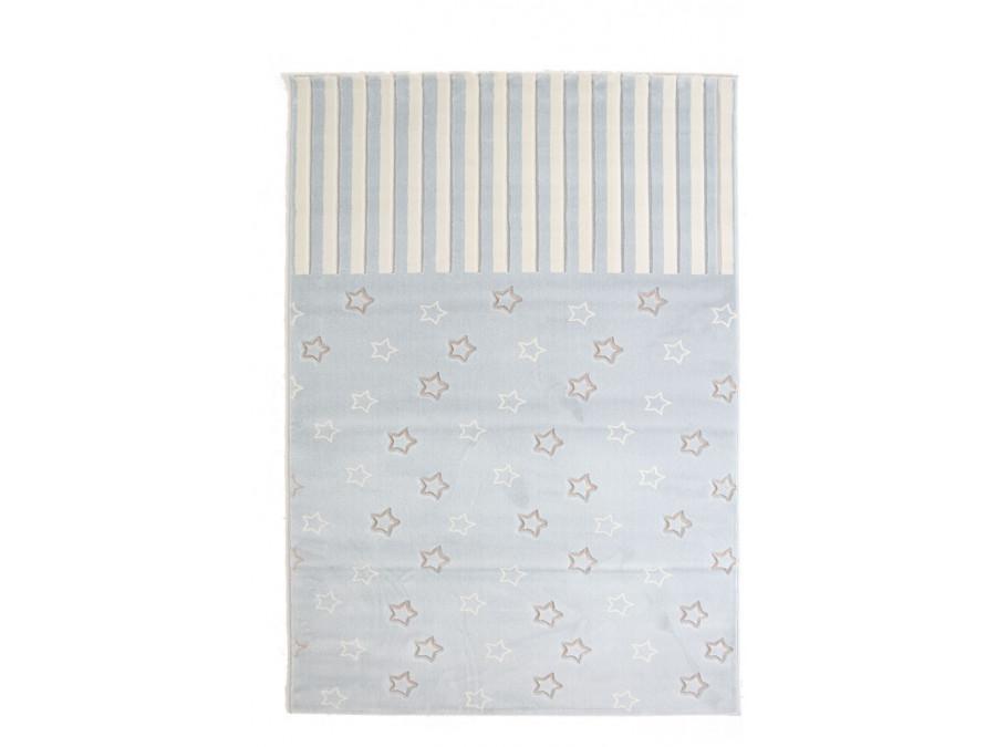 Παιδικό Χαλί Διαδρόμου Royal Carpet Galleries Sky 0.80X1.60 - 6395D L.Blue