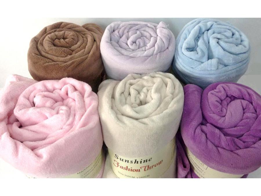 Ζεστή κουβέρτα καναπέ κοραλ φλις σε δύο διαστάσεις