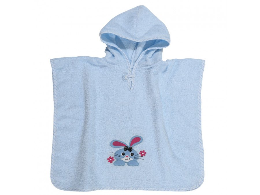 Poncho 45x90 Das Home Smile Embroidery 6540 Σιελ