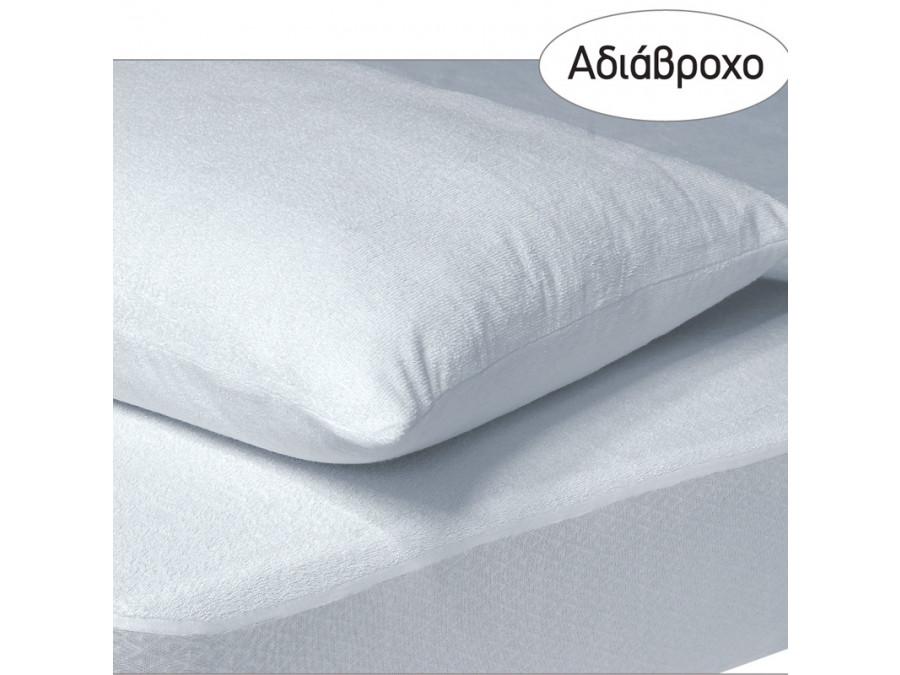 Αδιάβροχο Επίστρωμα Υπέρδιπλο 180x200+35 Das Home Comfort Mattress Protectors 1089 Λευκο