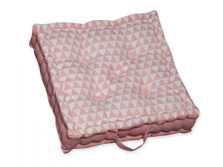 Μαξιλάρα Δαπέδου 50x50x13 Nef Nef Mood Pink