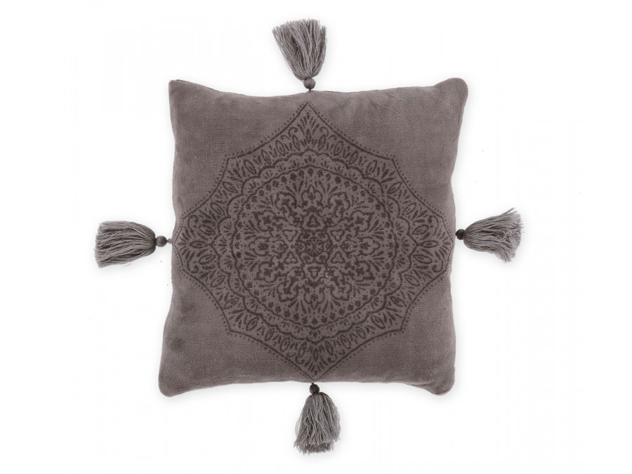 Διακοσμητικό Μαξιλάρι 45x45 Nef Nef Fleece Ava Grey