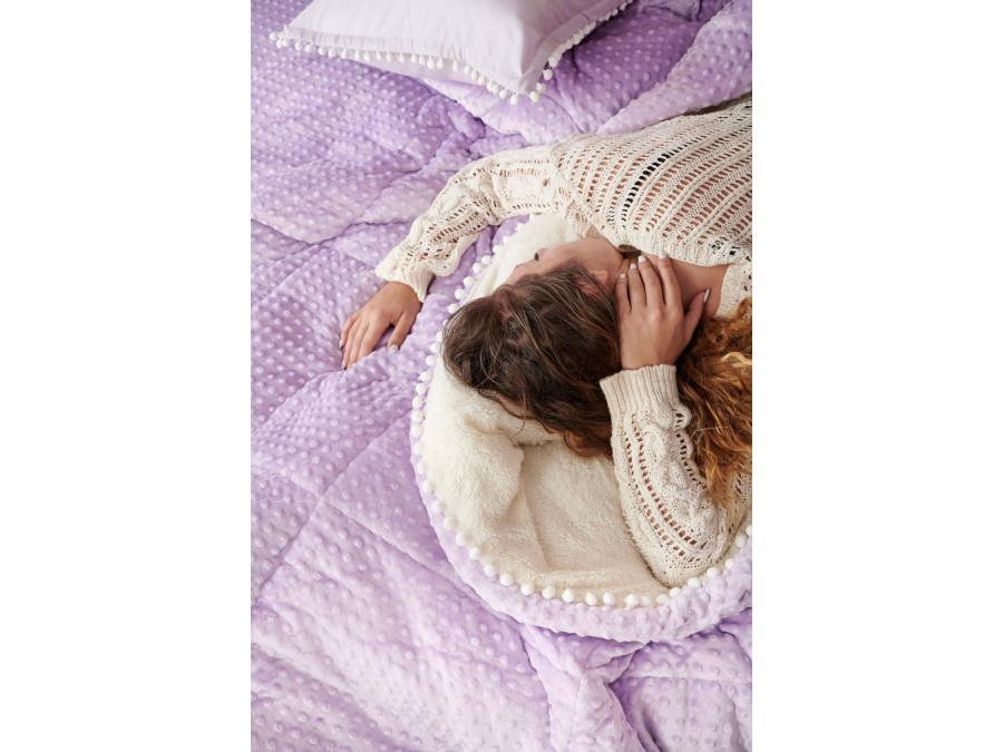 Διακοσμητική Μαξιλαροθήκη 50X50 Palamaiki Desire Blanket Desire Lilac