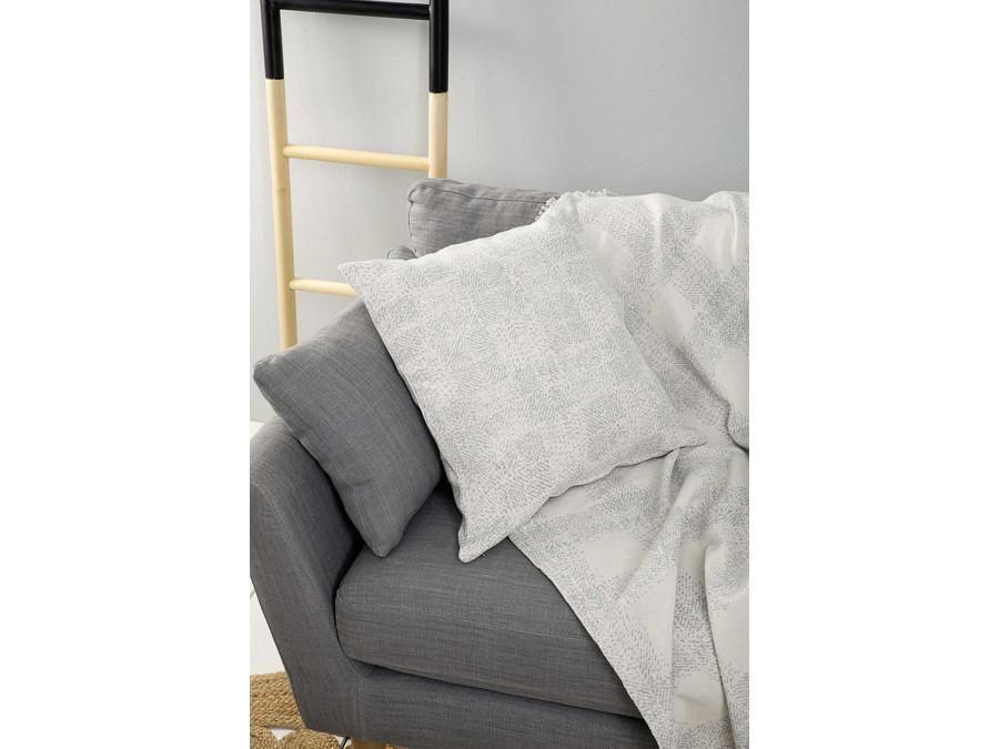 Διακοσμητική Μαξιλαροθήκη 50x50 Nima - Adamo Gray