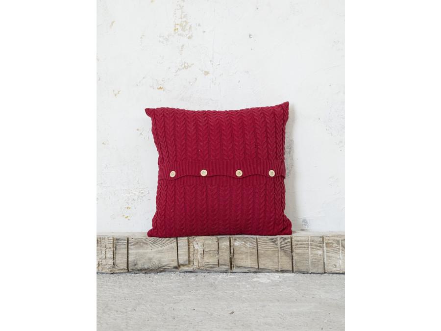 Διακοσμητικό Μαξιλάρι 45x45 Nima Moal Red