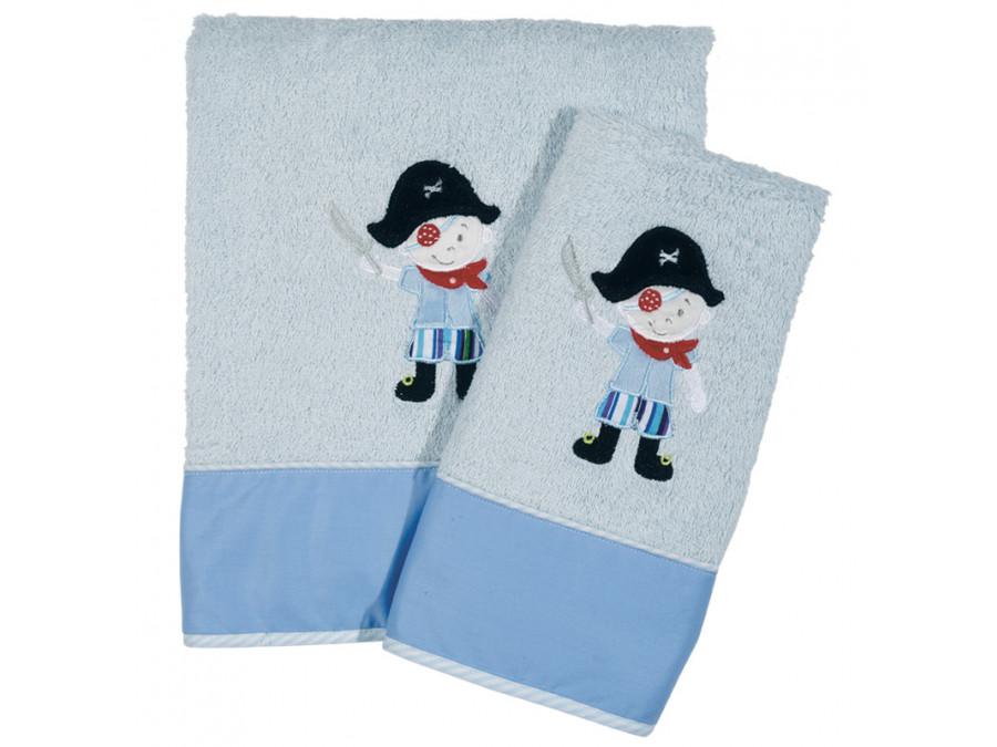 Βρεφικές Πετσέτες ( Σετ 2 Τμχ) Das Home Dream Embroidery 6510 Γαλαζιο