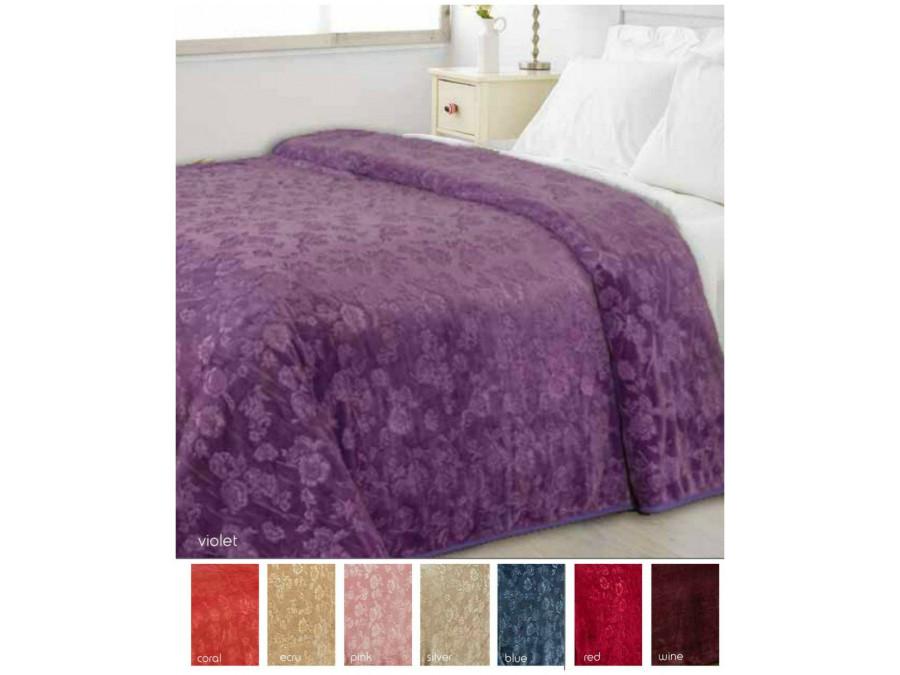 Κουβέρτα Fleece Μονή 160x240 Flower Fleece Blankets
