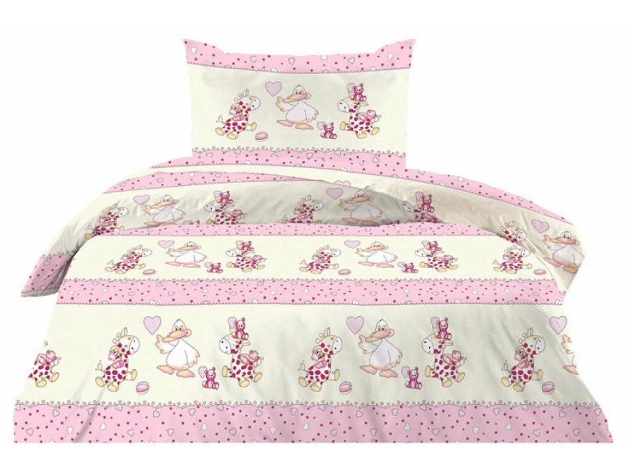Πάπλωμα 100% βαμβάκι Cotton Feelings 8482 pink