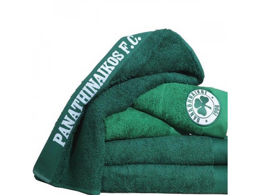Πετσέτα Προσώπου (50x100) Palamaiki Official Team Licenced Panathinaikos Green