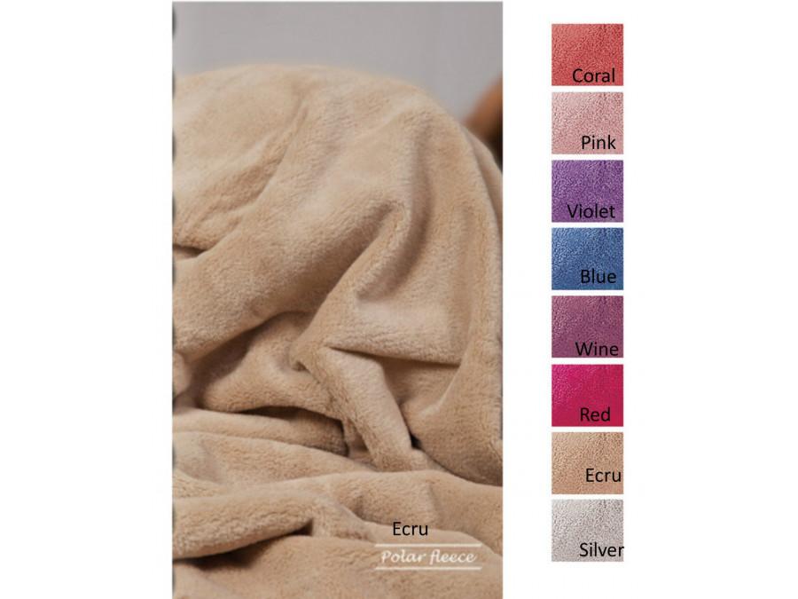 Κουβέρτα Fleece Μονή 160x240 Polar Fleece Solid