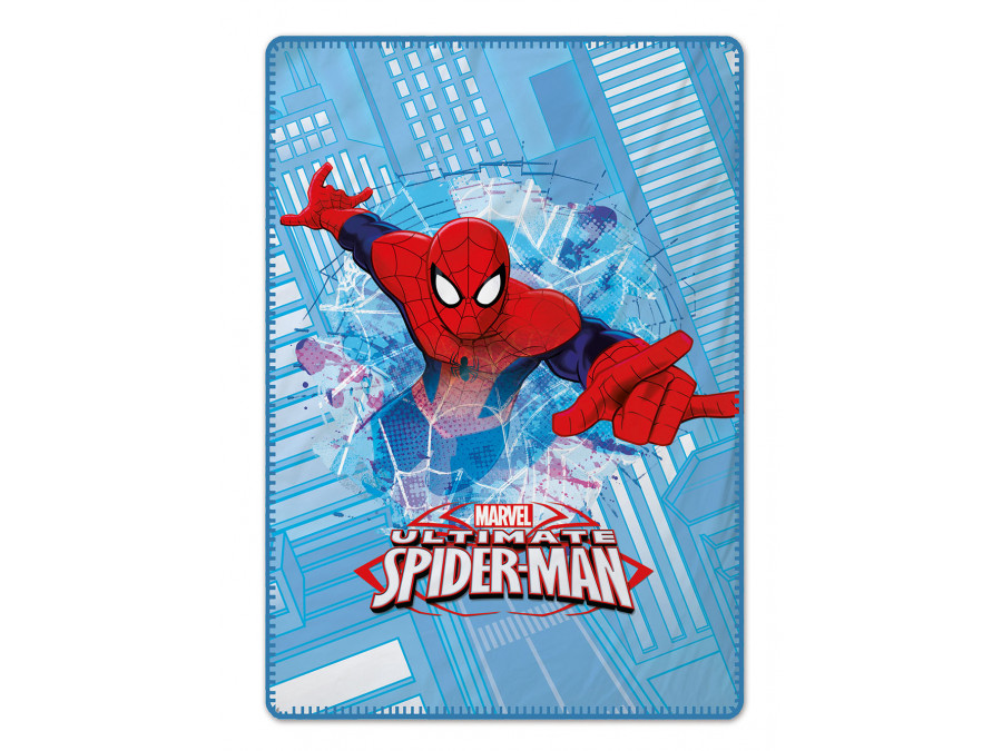 Κουβερτα Fleece Κούνιας 120x140 Spider Palamaiki Disney