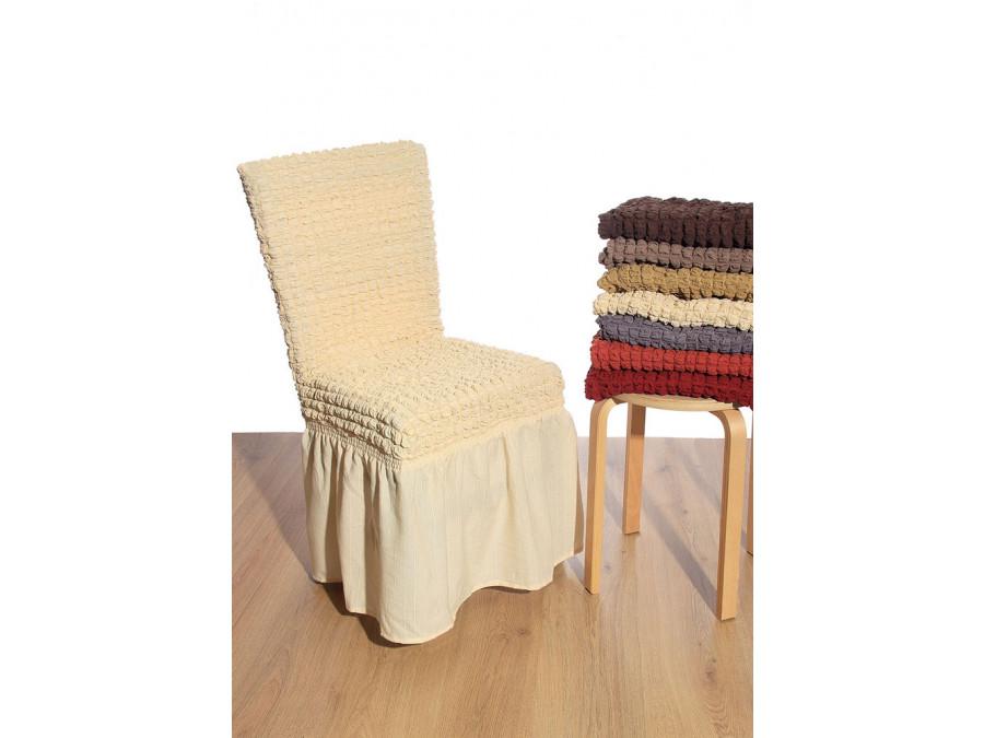 Ελαστικό κάλυμμα καρέκλας 70% Βαμβάκι-30% Λύκρα (Ανά τεμάχιο)