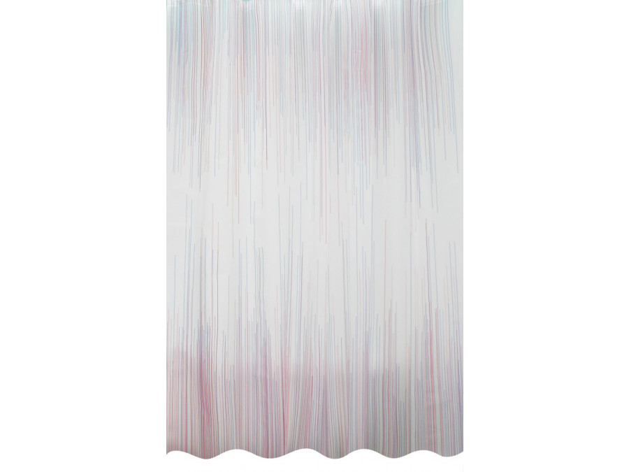 Κουρτίνα Μπάνιου 180x200 Lines Palamaiki Shower Curtain