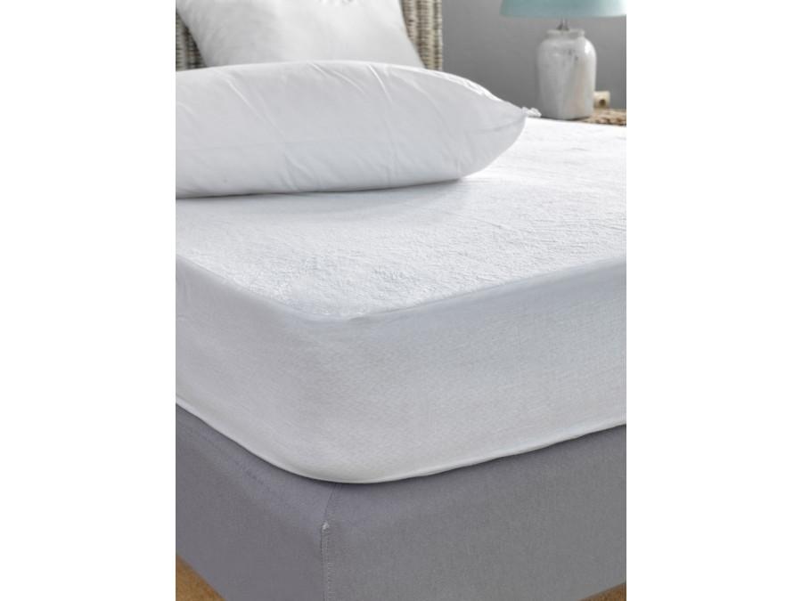 Αδιάβροχο Επίστρωμα King Size 180x200 Palamaiki White Comfort Jersey Waterproof