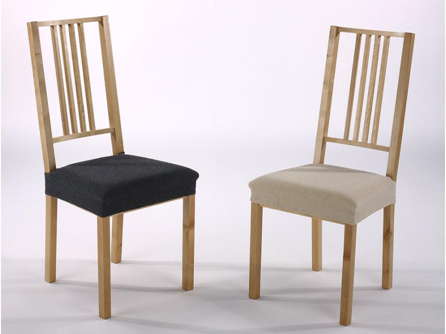 Σετ (2 Τμχ) Ελαστικά Καλύμματα-Καπάκια Καρέκλας Zafiro