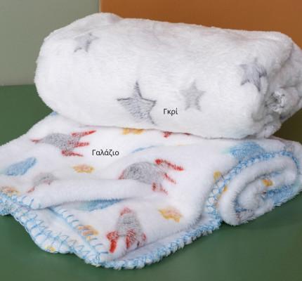 Κουβέρτα Fleece Αγκαλιάς 75X100 Palamaiki Bfl801 - 2