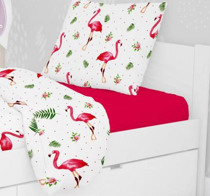 Μαξιλαροθήκη Τεμάχιο 50X70 Dimcol Flamingo 292