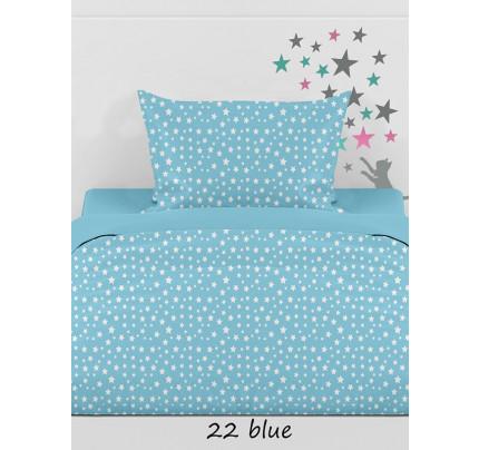 Φανελένια Σεντόνια (Σετ) Μονά - Sunshine Stars 22 Blue