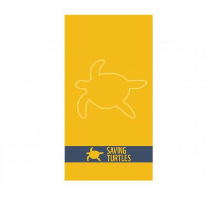 Πετσέτα Θαλάσσης 80x160 Nef Nef Ζακαρ Wwf Κίτρινο
