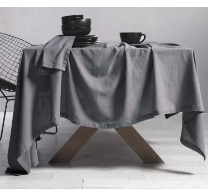Τραπεζομάντηλο 150x300 Nef Nef Cotton-Linen Grey