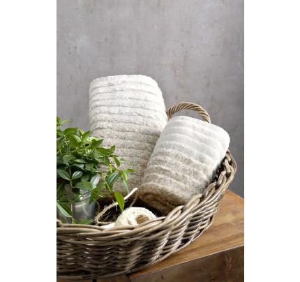 Πετσέτες Προσώπου (Σετ) (2 x 50x90) Le Bain Nima – Ombre