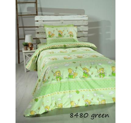 Σεντόνια Μονά (Σετ) Green bears 8480