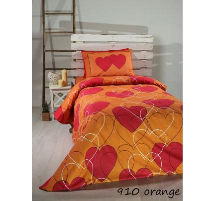 Σεντόνια Μονά (Σετ) 910 Orange