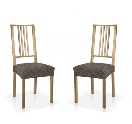Σετ (2 Τμχ) Ελαστικά Καλύμματα-Καπάκια Καρέκλας Karen